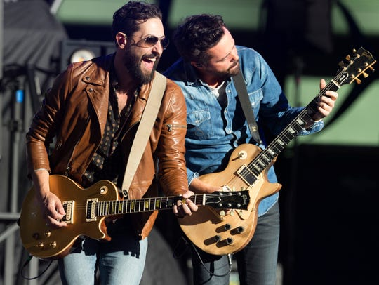 Matthew Ramsey (left) and Brad Tursi of Old Dominion