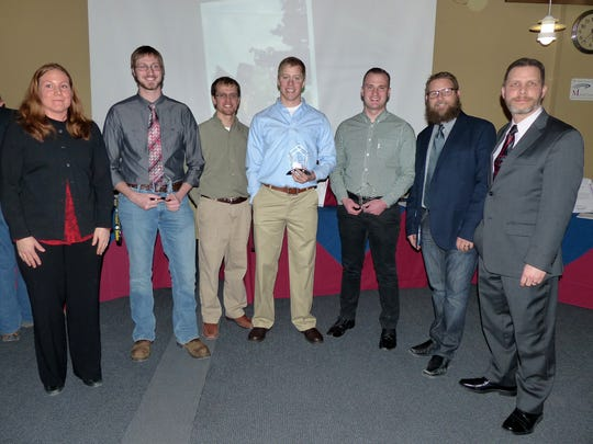 Mansfield University recently recognized students and