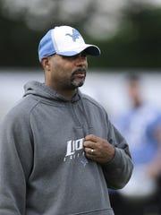 Lions first-year defensive coordinator Teryl Austin.