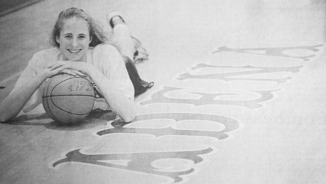 Emily Hammond was a basketball and volleyball star at Adena High School. Hammond, a 1994 graduate, was a two-time SVC Player of the Year on the volleyball court and led the Warriors' basketball program to a Division III state championship in 1993-94.