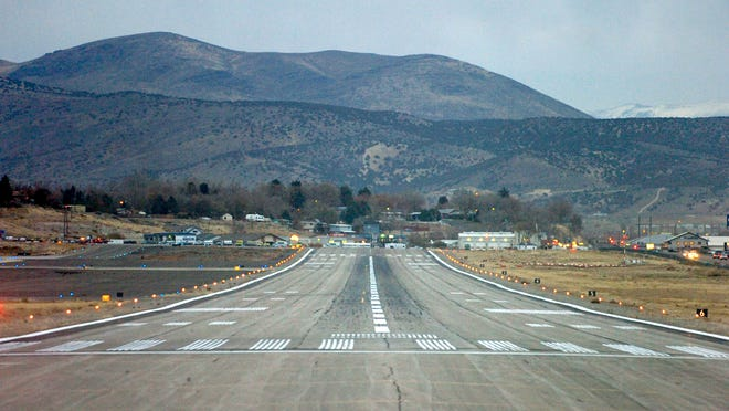 Elko Regional Airport is shown in this 2006 file photo.