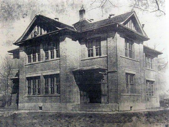 Krotz Springs School constructed in 1916.