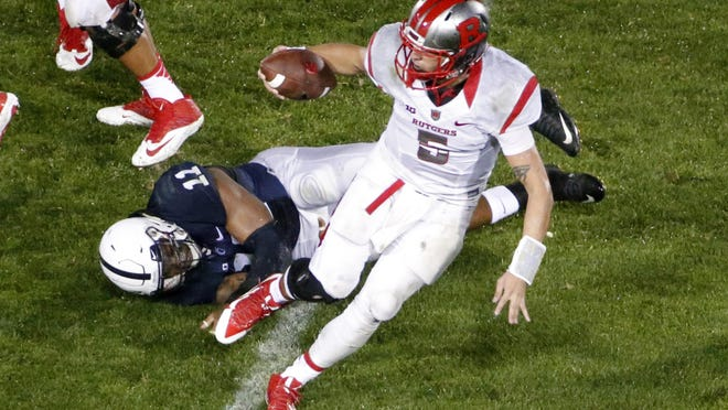 Rutgers quarterback Chris Laviano played all of the three games that coach Kyle Flood was suspended, a decision Flood supported.