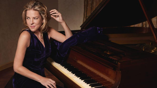 Multiple Grammy Award-winning jazz pianist and singer Diana Krall will perform at the Bardavon June 11.
