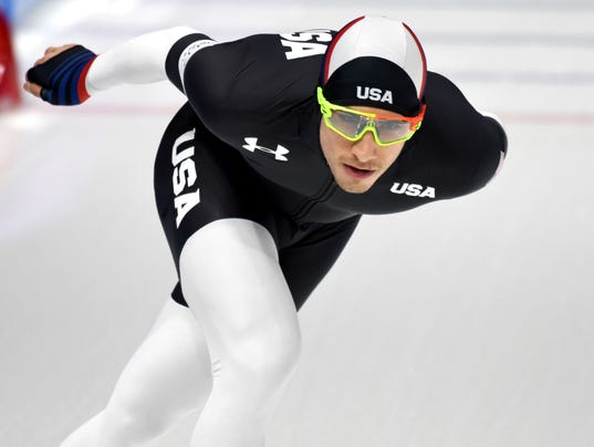 Olympics: Speed Skating-Mens 5000m