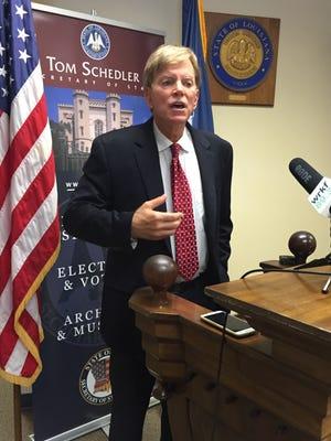 Republican David Duke is among 24 candidates who qualified for Louisiana's U.S. Senate race.