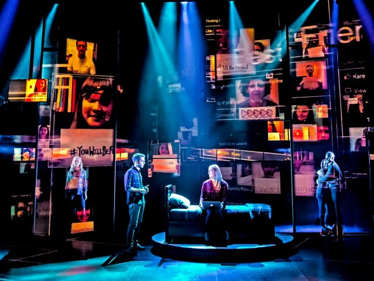The musical is beautifully directed by Michael Greif