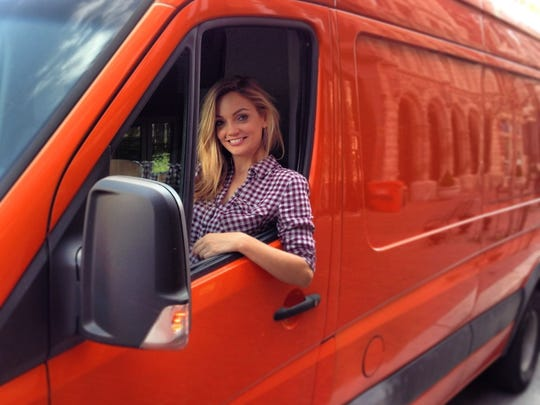 """Kristina J. Addington, the first vegan chef to win Food Network's culinary competition """"Cutthroat Kitchen,"""" plans to launch a food truck called V-Grits (Vegan Girl Raised In The South)."""