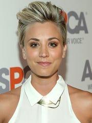 Actress Kaley Cuoco
