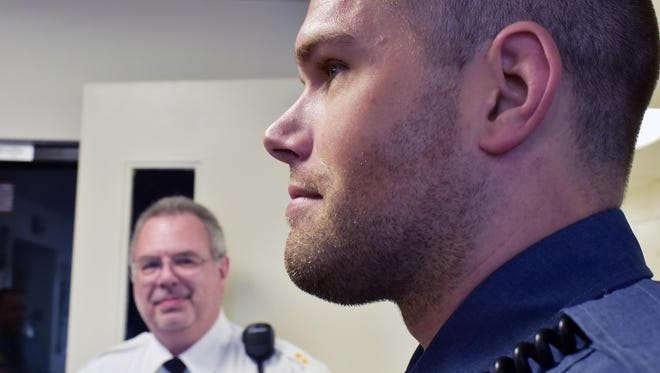 The Millville Police Department waived its policy against wearing beards  for November so officers like Tim Rehmann can take part in raising money for a cancer charity.