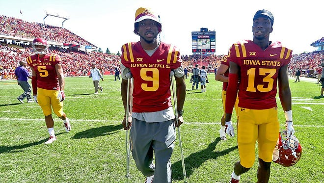 Iowa State wide receiver Quenton Bundrage spent almost all of last season on the sidelines. Now, he's back and ready to contribute in a big way.