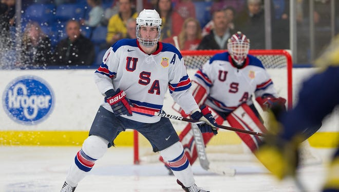 Voorhees native Mattias Samuelsson will head to Western Michigan University in the fall to play with his older brother Lukas.