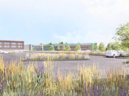 Aurora Health Care unveiled a conceptual design for a hospital in Kohler on Nov. 9.