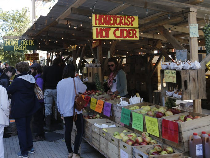 The 35th annual Apple Harvest Festival in downtown
