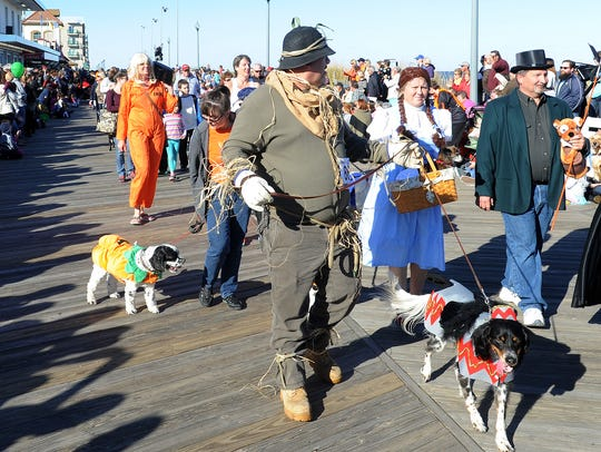In this file photo, Sea Witch's Pet Parade always brings
