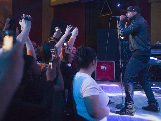 Talib Kweli, picutred in 2011, performs Aug. 24 at