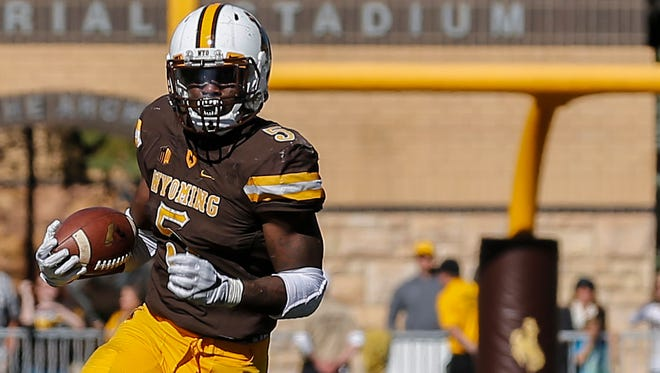 Wyoming running back Brian Hill is one of the top offensive players in the MW.