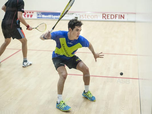 The Motor City Squash & Education Foundation 2015 Motor City Open Finals