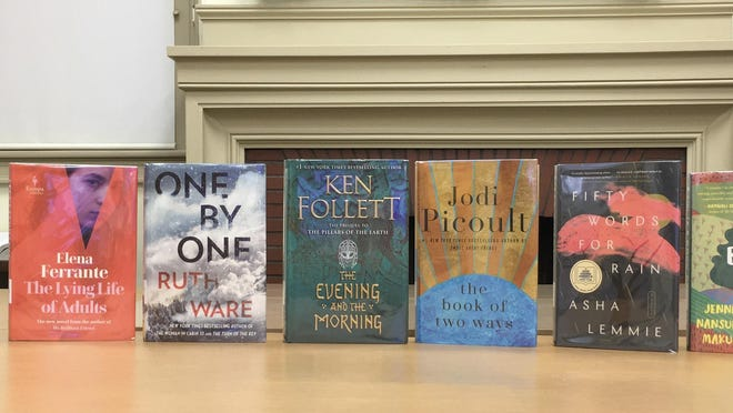 Look for these newly added titles on the New Fiction shelves.