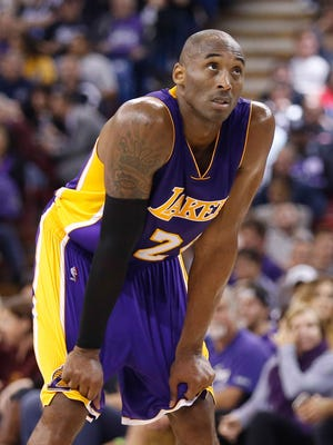 Kobe Bryant is playing the most minutes of anyone on the Lakers.