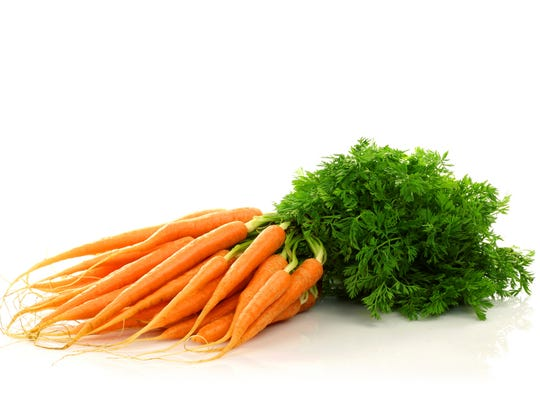 Carrots are nutrition packed and low calorie - with 1 cup having only about 50 calories.