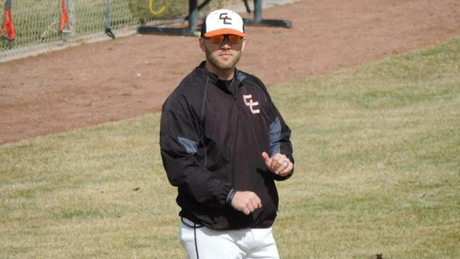 Former South baseball player Zach Brockman has been the head coach for Greeley Central baseball team since 2009.