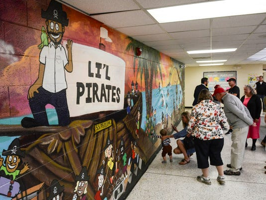 Mural Unveiled at Palm Bay Elementary