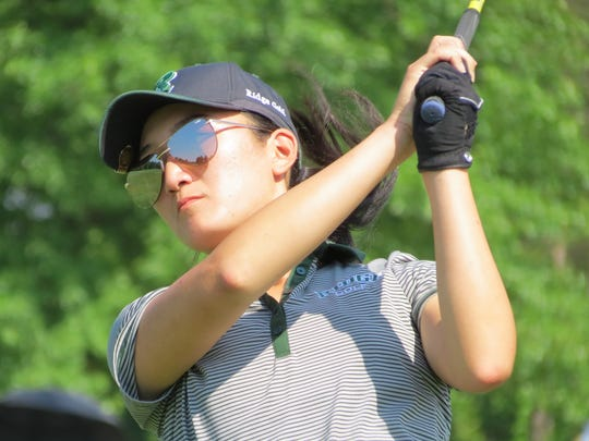 Ridge senior Anina Ku was runner-up at the NJSIAA 18th Girls Golf Championship at Royce Brook Golf Club in Hillsborough on Tuesday, May 29.
