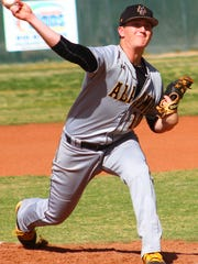 Alamogordo senior Jarod Johnson struck out eight batters in a complete-game win over Santa Teresa in game one Thursday afternoon.