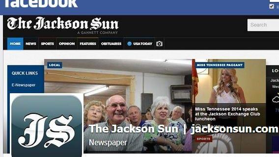 The Jackson Sun's Facebook page