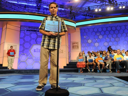 Marcus Behling 2015 SPELLING BEE