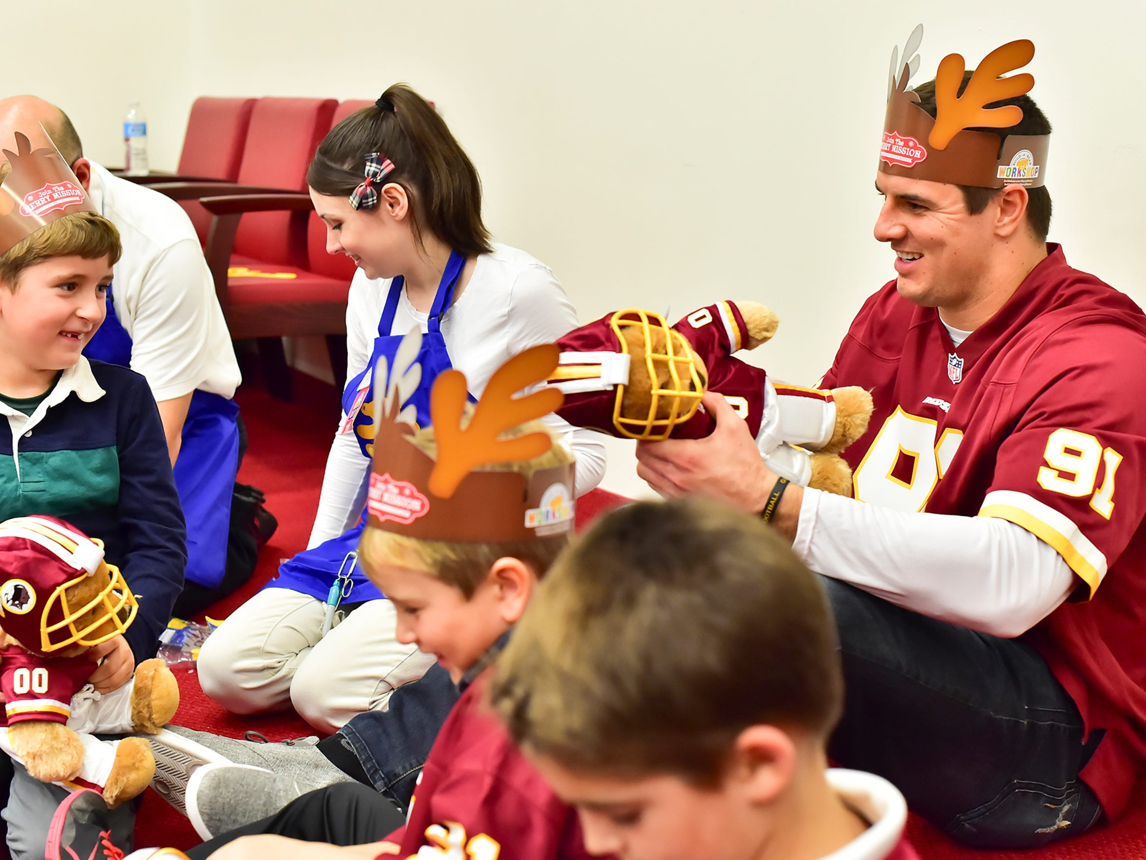 Ryan Kerrigan hosted the third annual 'Ryan's Reindeer