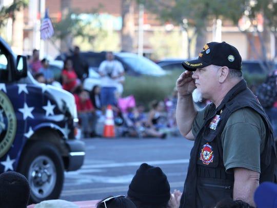 Robert Boswick, a former sniper in theU.S. Marine