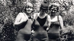 Vada Thomas, Merle Brown, and Jamda Graves are shown