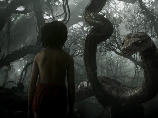 """The Jungle Book"" tells the story of Mowgli and Kaa."