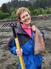 Kay Miller caught the Royal Wedding on TV at 4 a.m., then joined in for a sleep-deficit clamming outing to Garibaldi.