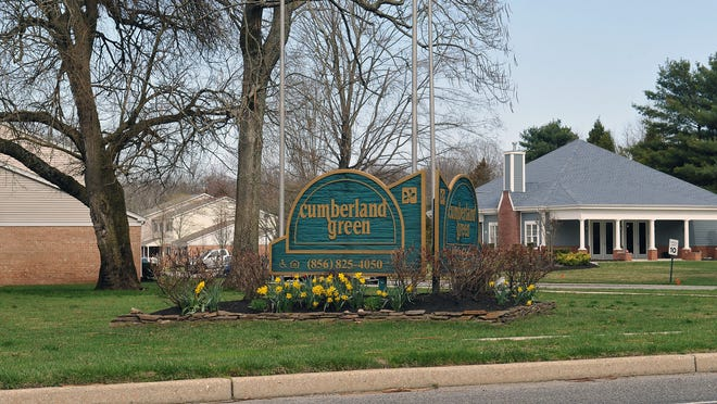 Police found a man shot at Cumberland Green Apartments in Millville earliy Monday morning. April 13, 2015.