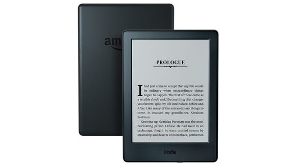 The basic Amazon Kindle is the most affordable with glare-free reading but no backlight.