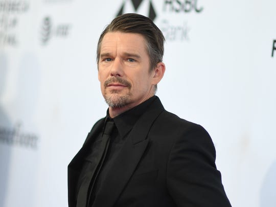 "Actor/Director Ethan Hawke said O'Rourke ""reminds me of a 2018 Jimmy Stewart. Tall, humble, sincere, and funny."""