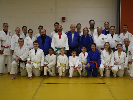 The Stevens Point Judo Club's participants on March