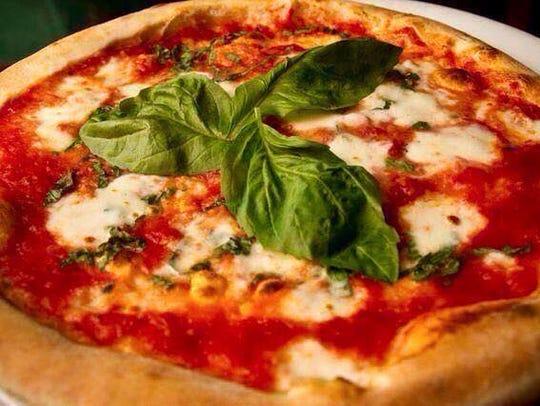 Margherita Pizza at Bella Napoli.