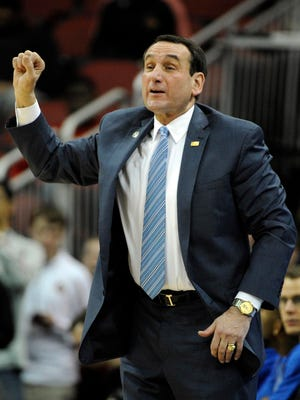 Duke Blue Devils head coach Mike Krzyzewski is going for his 1,000th win against St. John's on Sunday.