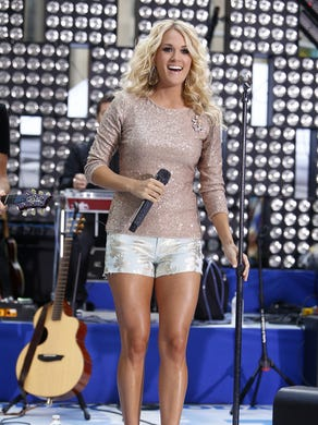 Carrie on the 'Today' show in 2012.