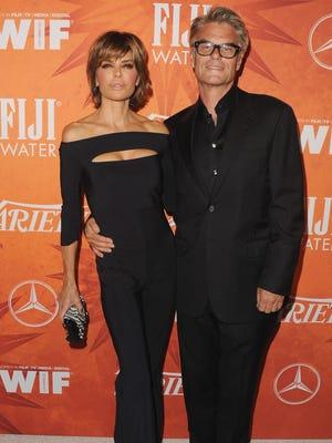 Lisa Rinna and husband Harry Hamlin.