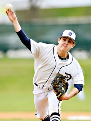 Senior Jake Gates was strong in Dallastown's Y-A League semifinal win over York Catholic and will factor into the team's pitching plans heading into the state tournament.