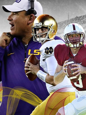 In Week 4, LSU faces Auburn, Notre Dame plays Michigan State and Stanford gets tested against Arizona State.