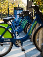 Chattanooga Bike Share has docking stations where riders