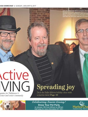 Cover of January issue of Active Living