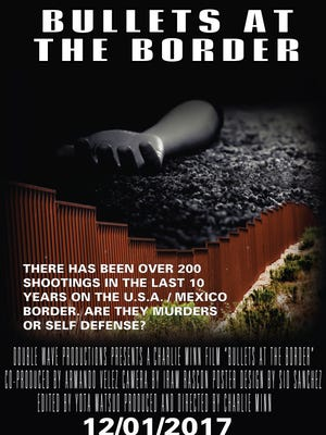 """Bullets at the Border"" movie poster"