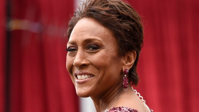 Robin Roberts, who worked the red carpet at the Oscars, will be the keynote speaker April 17 at the annual fundraiser of the Medical Foundation of Marion & Polk Counties.